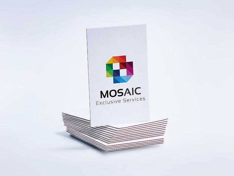 Visitenkarten Mit Farbkern Drucken Viaprinto Druckerei